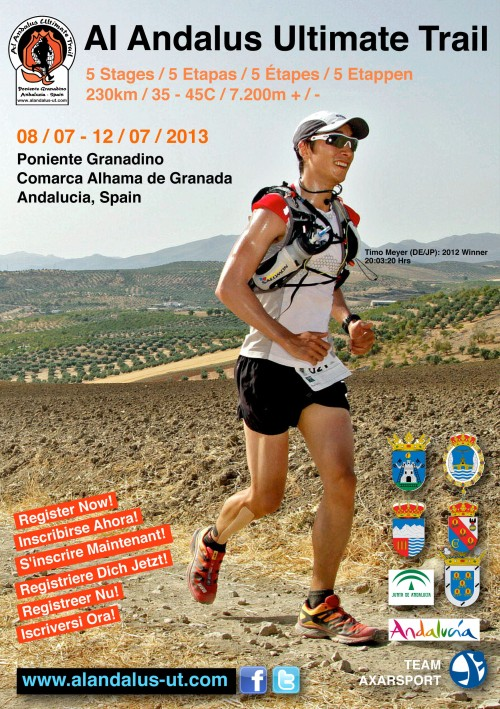 Kit Al Andalus Ultimate Trail del 8 al 12 de Julio 2013