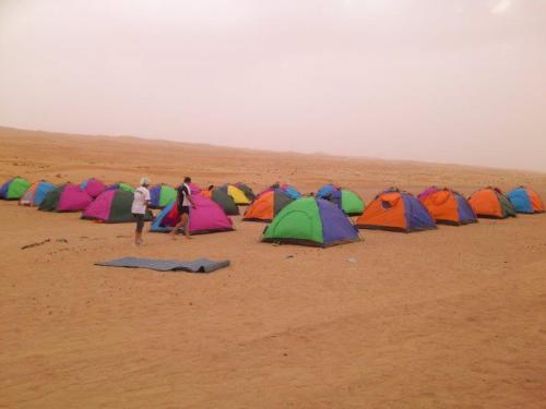 Tiendas Oman Desert marathon 2014
