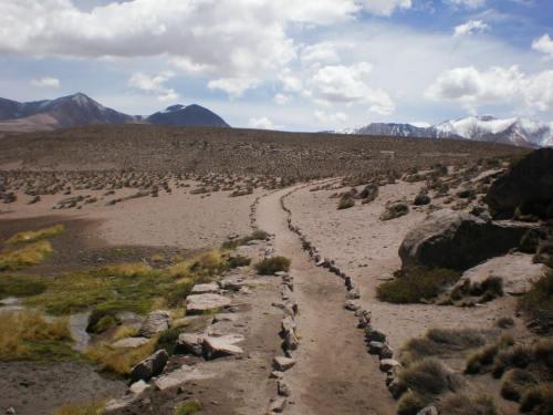 en los Andes