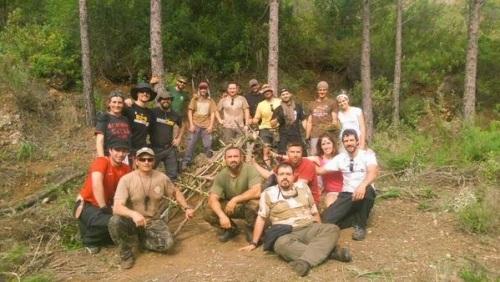 escuela supervivencia anaconda ogalla curso cabaña 2