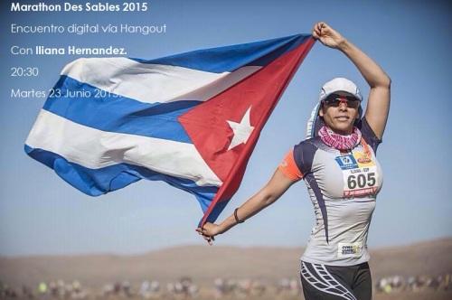 Iliana Hernandez. De no Hacer ni un Maraton al Marathon de Sables 2015