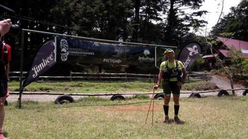 Andrés lledo acaba de finalizar la 3a etapa. Las sensaciones son fantásticas.