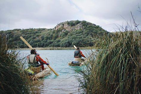 Maykol y Alex ya están en el agua! Llevamos 4 lagunas navegadas y vamos a por más con mucha motivación