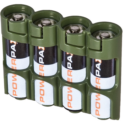 Envase Pilas AA 4 Pack Verde Storacell